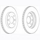 Glober Тормозной диск передний/ Nissan Kubistar