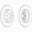 Glober Тормозной диск передний/ Opel Ascona C