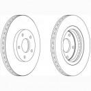 Glober Тормозной диск передний/ Renault Koleos