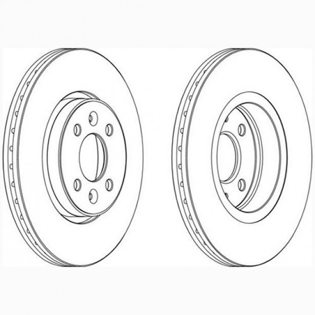 Glober Тормозной диск передний/ Renault Laguna Grandtour
