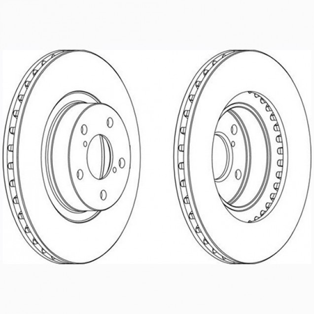 Glober Тормозной диск передний/ Subaru Forester