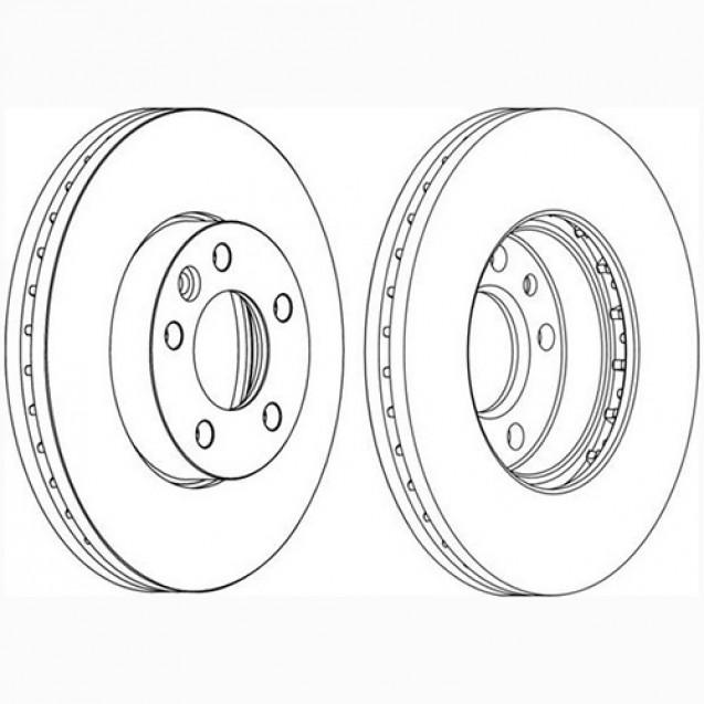 Glober Тормозной диск передний/ VW Multivan