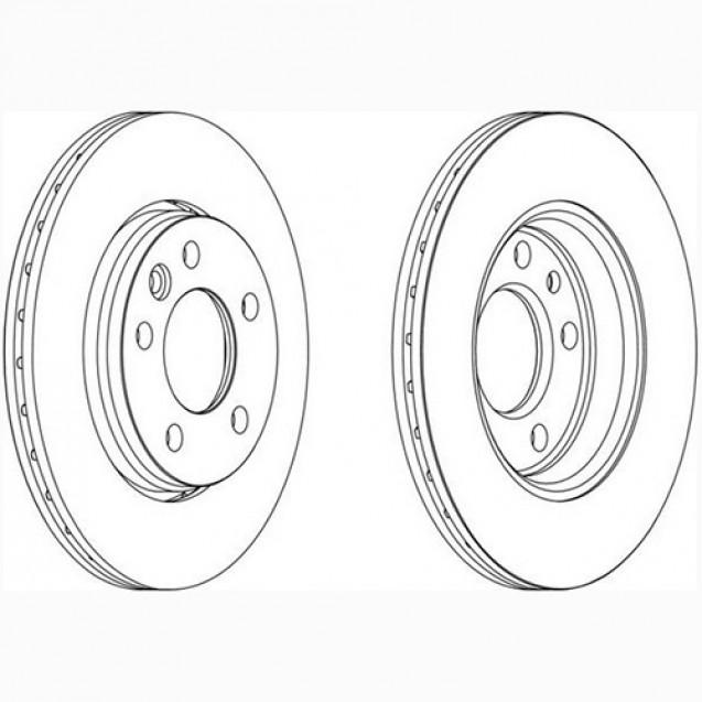 Glober Тормозной диск задний/ VW Multivan