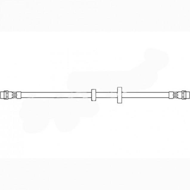 Glober Тормозной шланг передний/ VW Transporter IV
