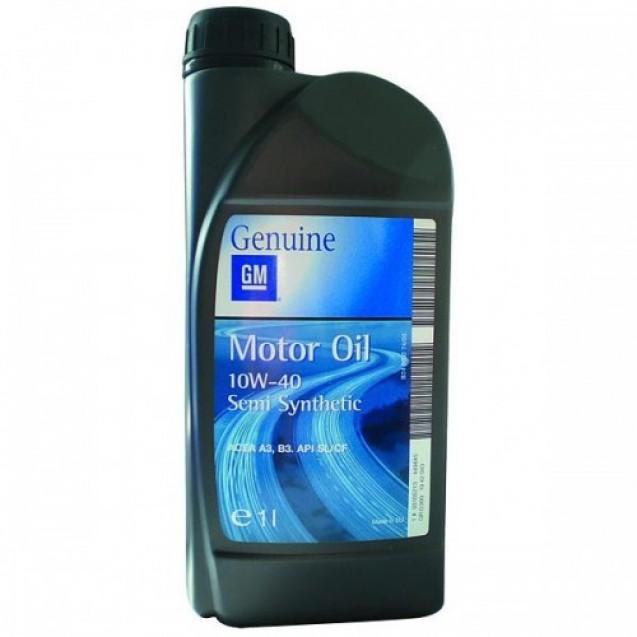 GM Semi Synthetic 10W40 Полусинтетическое масло 1l