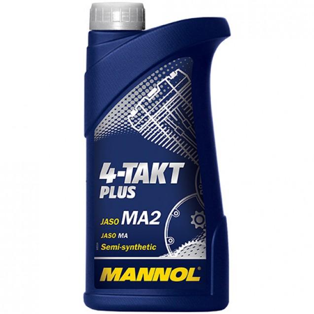 Mannol 4-Takt Plus SL Полусинтетическое масло 1l