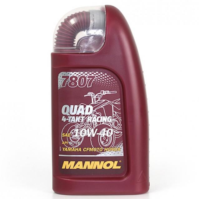 Mannol 7807 Quad 4-Takt Racing SL/CF Масло для четырехтактных двигателей 1l