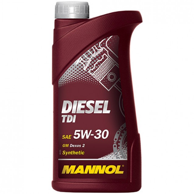 MANNOL Diesel TDI 5W30 Синтетическое масло 1l