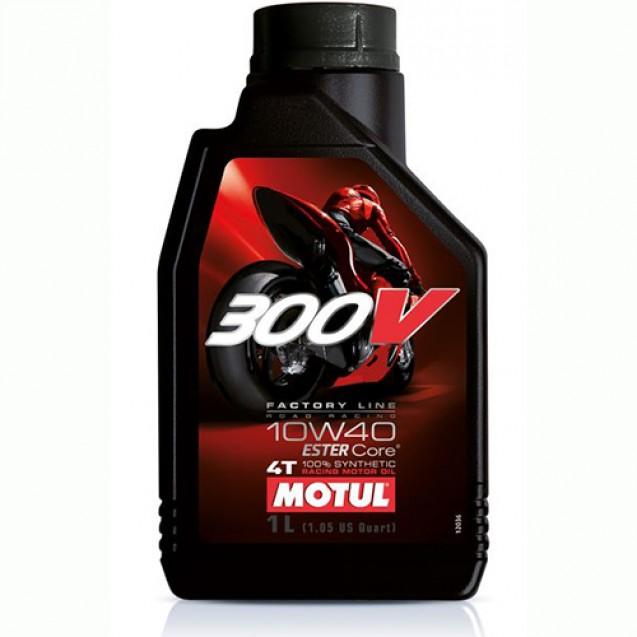 Motul 300V 4T FACTORY LINE SAE ROAD RACING 10W40 Синтетическое масло 1l