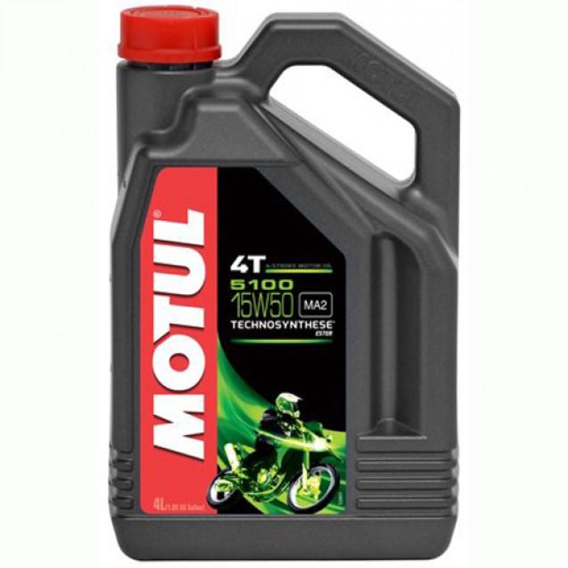 Motul 5100 4T 15W50 Масло полусинтетическое 4l