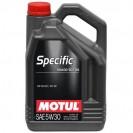 Motul Specific 504 00 507 00 5W30 Синтетическое масло 5l