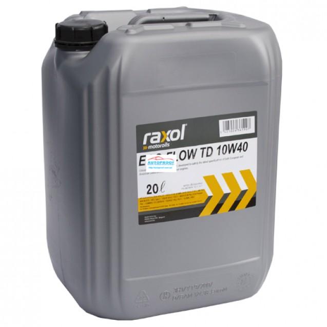 RAXOL ECO FLOW TD 10W40 Полусинтетическое масло 20l