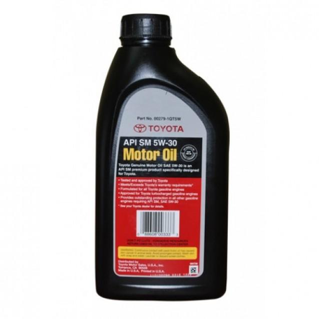 Toyota Motor Oil 5W30 Синтетическое масло 946ml
