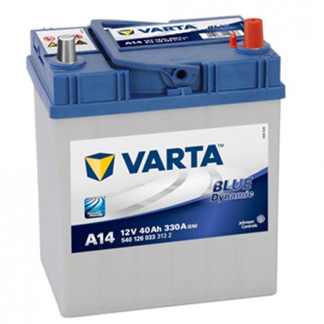 VARTA Аккумулятор 40Ah-12v BD(A14)/Для DAEWOO MATIZ