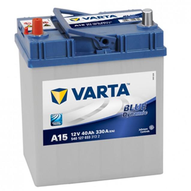 VARTA Аккумулятор 40Ah-12v BD(A15)/Для DAEWOO MATIZ